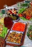 партия еды Стоковое Фото