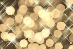 партия золота предпосылки Стоковые Изображения