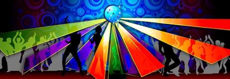 партия иллюстрации танцульки Стоковая Фотография