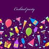Партия коктеила Стоковая Фотография