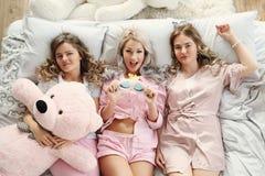 Партия кровати Стоковые Изображения RF