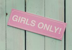 Партия курицы, женственные девушки знака только Фон будочки фото, украшение стоковые изображения rf