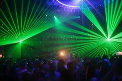 партия лазера Стоковое Фото