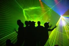 партия лазера Стоковое Изображение RF