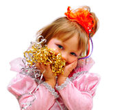 партия малыша девушки Стоковые Изображения RF