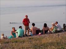 Партия на пляже видеоматериал