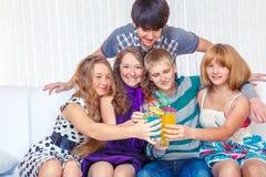 Партия Нового Года стоковое изображение