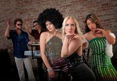партия нот диско 1970s Стоковое Изображение