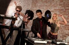 партия нот диско 1970s Стоковые Фото