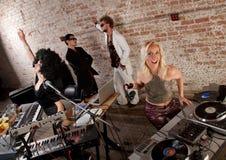 партия нот диско 1970s Стоковая Фотография RF