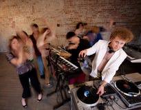 партия нот диско 1970s Стоковое фото RF