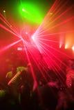 партия ночи клуба предпосылки Стоковое Изображение