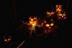 Партия ночи тыквы Стоковое Фото