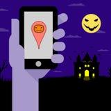Партия ночи хеллоуина Стоковые Фотографии RF