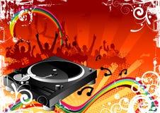 партия ночи Стоковая Фотография RF