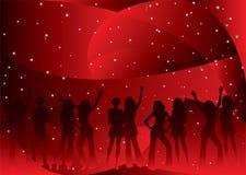 партия ночи Стоковые Изображения RF
