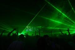 партия ночи Стоковое Изображение RF