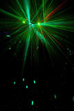 Партия освещает свет стоковое изображение