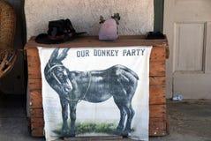 Партия осла стоковая фотография rf