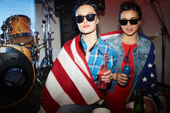Партия патриота Стоковая Фотография RF