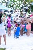 Партия пены в Панаме Стоковые Фото