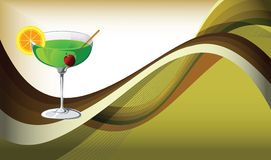 партия питья коктеила Стоковые Фотографии RF