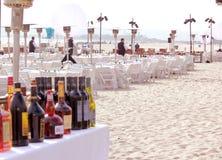 партия пляжа Стоковые Изображения RF