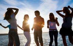 партия пляжа Стоковая Фотография RF