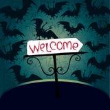 партия приглашения halloween иллюстрация вектора