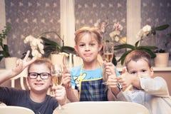 партия приглашения детей карточки Стоковые Изображения