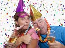 Партия пьяная стоковая фотография rf