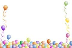 партия рамки дня рождения Стоковое фото RF