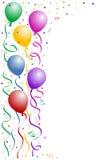 партия рамки дня рождения стоковое фото