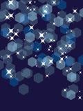 партия сини предпосылки Стоковое фото RF