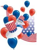 партия США Стоковые Фотографии RF