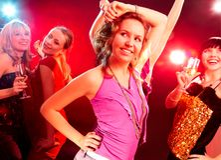 партия танцульки Стоковое Фото