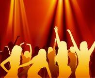 Партия танцульки Стоковая Фотография