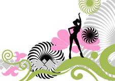 партия танцы Стоковые Изображения RF