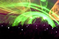 партия толпы клуба Стоковые Фотографии RF