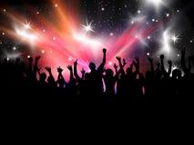 партия толпы Стоковые Фото