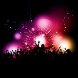 партия толпы Стоковые Фотографии RF