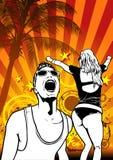 партия тропическая Стоковое Фото