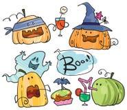 Партия тыквы хеллоуина Стоковые Фото