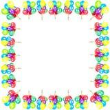партия украшения цвета воздушных шаров Стоковое Фото