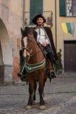 партия участника costume средневековая Стоковое Изображение RF