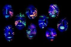 Партия ультрафиолетового света Стоковые Изображения