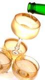 партия шампанского Стоковая Фотография