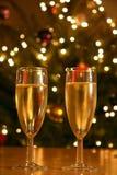 партия шампанского Стоковое Фото