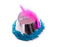 партия шлема бумажная Стоковые Фото