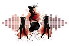 Партия девушки диско Стоковое Фото